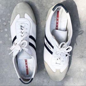 Authentic Prada Nylon Tech Sport Sneakers